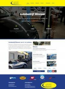Autobedrijf Minnaar Website